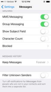 ios sms groups incorrect contacts fix